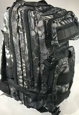 Urban Emergency Survival BackPack Essential Bug out Bag Zombie Hurricane Hiking
