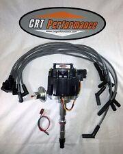 NEW AMC V8 GM HEI Distributor + PLUG WIRES 8MM  *CRT PERFORMANCE QUALITY*