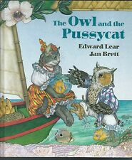 The owl and the pussycat by edward lear & jan brett discovery 1st hardcover 1991