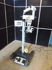 Leica M840 Eye Surgical Microscope With Foot Control Passes Self Tests S3211