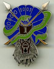 Insigne opex , 1 /  1  RHP. - CONGO 2003