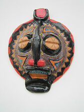 Handmade African Mask - stoneware by nc artist Helen Seebold