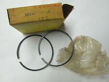 GENUINE NOS Suzuki TS185 1st Over Piston Ring Set 1971-1975 .50 12140-29710