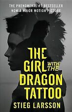The Girl with the Dragon Tattoo (Movie Tie-In Edition): Book 1 of the Millennium Trilogy by Stieg Larsson (Paperback / softback)
