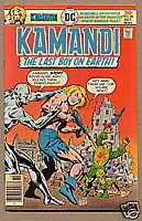 KAMANDI, LAST BOY ON EARTH #46, DC Comics 1976, VF