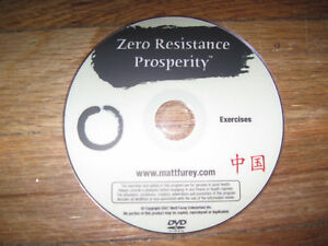 Matt Furey Zero Resistance Prosperity Exercises Karate Kung-Fu Internal Health