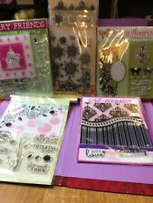 Craft Embossing Folders And Stamp Set :5 Packs NEW