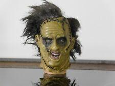 "Escala 1:6 Texas Chainsaw Massacre Leatherface ss 2003 cabeza esculpida por 12"" figura"
