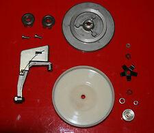 Uher Royal de Luxe Tonbandmaschine linker Spulenteller innere Mechanik