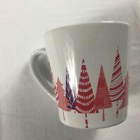 Starbucks Coffee Mug Cup 14.2oz Partridge 2017 Christmas Trees Holidays Drink
