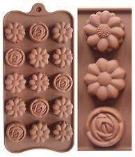 Silicona Molde de Chocolate, Modelado en Azúcar para Tartas, Jabón, Flores Daisy