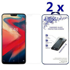 2-Pack For Oneplus 6 Tempered Glass Screen Protector