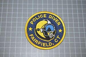 Fairfield Connecticut Police Diver Patch (B17-S)