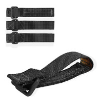 Maxpedition 3 Inch Tactile Attachment Strap Black Package of 4 9903B