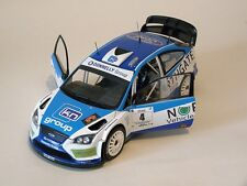 1:18 scale DONAGH KELLY / FLANAGAN GALWAY RALLY 2015 FORD FOCUS WRC code3