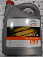 Genuine 5 Litre Toyota 5w30 PFE Synthetic Engine Oil 08880-83389