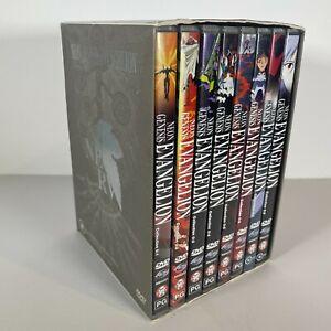 NEON GENESIS EVANGELION DVD box set RARE ANIME
