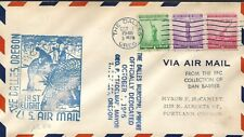 USA 1946 FIRST FLIGHT SERVICE FROM DALLES OREGON TO PORTLAND