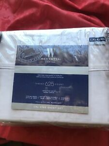 Wamsutta PimaCott Solid 625-Thread-Count California King Sheet Set in  Lavender