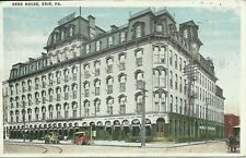 Demolished Reed House Hotel Erie Pennsylvania Perry Square 1920 Postcard