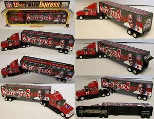2000 Tampa Bay Buccaneers Keyshawn Johnson Metal Die cast Truck Trailer
