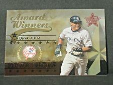 Derek Jeter 2002 Leaf Rookies Stars Longevity Parallel (008/100) New York Yankee