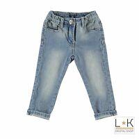 Jeans in Caldo Cotone Denim Neonata Sarabanda M239