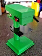 RC 1/10 Scale Green Black Drill Press Stand Rock Crawler Truck Garage Accessory