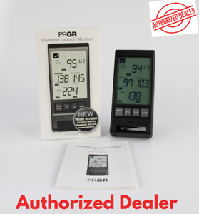 PRGR Black Personal Pocket Golf Launch Monitor HS-130A (NEW 2021 - US Version)