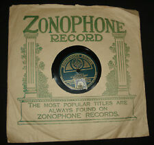 """1920s  ZONOPHONE 3818 - 10"""" 78 rpm  - VICTOR SALON ORCHESTRA – WHAT'LL I DO"""