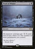 1x Dead of Winter, LP, Modern Horizons, EDH Commander Snow Tribal Sweeper Black