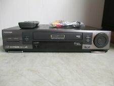 Toshiba W808 Svhs Super Vhs HiFi Video Cassette Recorder Vcr 6 Heads