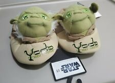 Kids/Toddler House Shoes Slippers Star Wars Yoda, Size Medium 7/8. New