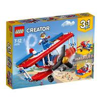 31076 LEGO Creator Daredevil Stunt Plane 200 Pieces Age 7+ New Release For 2018!