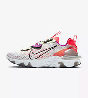 NIKE REACT VISION D/MS/X - WHITE, BLACK, VOLT - CD4373 102 - UK 8.5, 9.5, 10, 11
