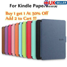 PU Leather Smart Magnetic Cover Case For Amazon 1/2/3 Cover Kindle Paperwhite