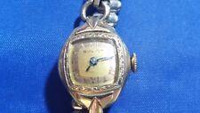 Vintage Bulova 17 jewels Women's Watch 10K R.G.P. Case
