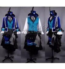 Usa Seller Black Butler Ciel Costume Kuroshitsuji Musical Ciel Cosplay