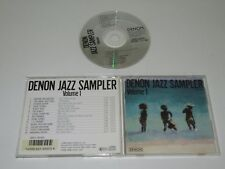 VARIOUS/DENON JAZZ SAMPLER VOLUME 1(DENON GES-9107) CD ALBUM