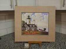 Charles Wysocki - Jason Sparkin the Lighthouse keepers daughter -  16x18 NEW