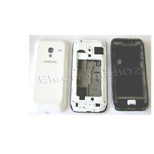 Fascia Housing Back Battery Cover For Samsung Galaxy Y Duos GT S6102 White UK