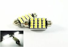 2x Canbus 16 SMD LED 6418 6411 6413 For MERCEDES-BENZ License Plate Light White