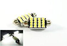 2x Canbus 16 SMD LED 6418 6411 6413 For MERCEDES-BENZ License Plate Light White
