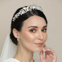 Bridal Wedding Rhinestone Crystal Tiara Headband Princess Prom Crown