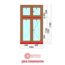 Holzfenster Fenster HOLZ Kiefer oder Meranti 104 x 178 cm SUPER PREIS/QUALITÄT!!