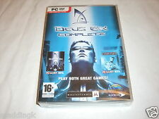 PC Game Deus Ex Complete - Original Game and Invisible War Brand New Sealed