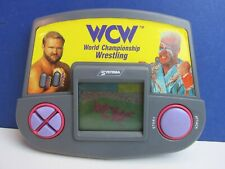 vintage SYSTEMA WCW WRESTLING electronic HAND HELD LCD VIDEO GAME wwf wwe 88V