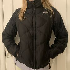 Women's The North Face 550 Fitted Fill Down Jacket Black Size S/P
