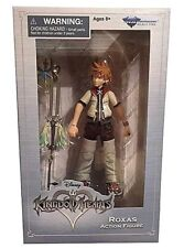 "DISNEY KINGDOM HEARTS,ROXAS 6.5"" ACTION FIGURE,& OATHKEEPER KEYBLADE,SERIES 2,"