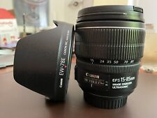 canon ef-s 15-85 mm f/3.5-5.6 is usm lens